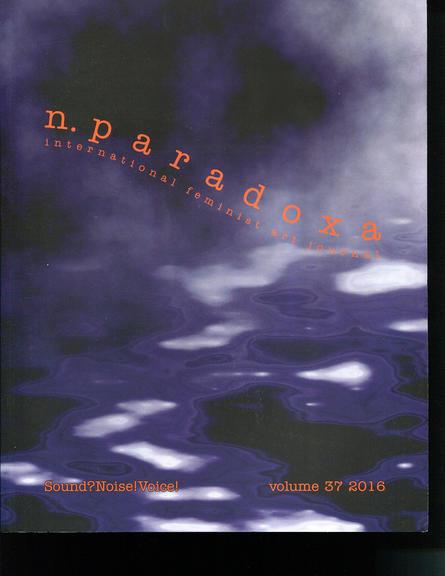 n.paradoxa / international feminist art journal, volume 37, 2016