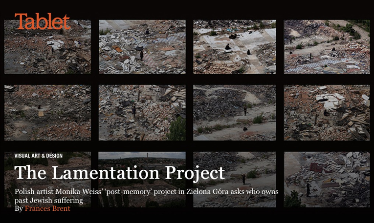 The Lamentation Project: Polish artist Monika Weiss' postmemory project / by Frances Brent