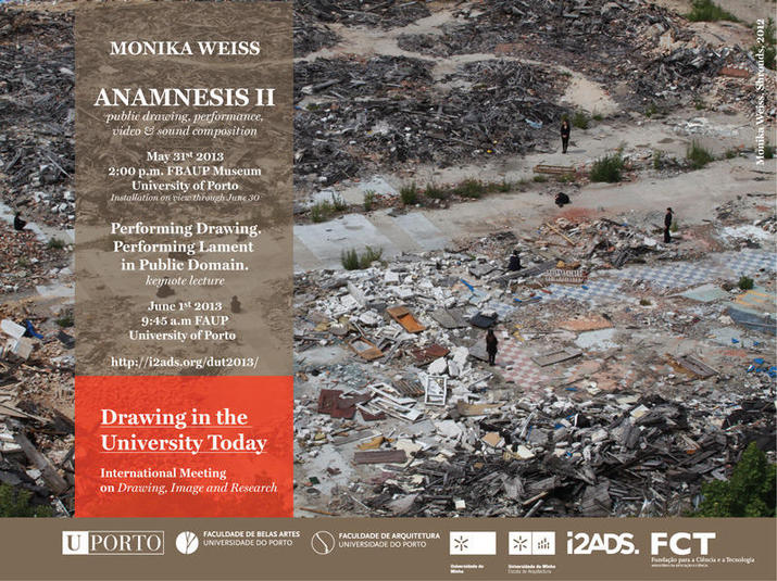 Anamnesis II @ FBAUP Museum/University of Porto & Keynote Lecture at Drawing in the University Today
