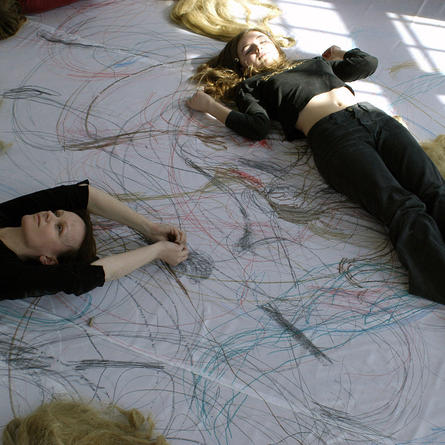 Monika Weiss: Lethe-the Space of Drawing, Centre for Contemporary Art Ujazdowski Castle, Warsaw, 2005