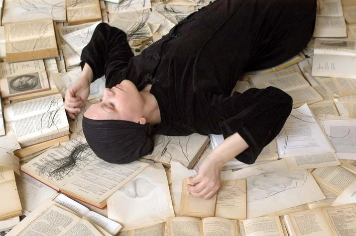 Potsdamer / The Power of Performance. Monika Weiss / by Lore Bardens