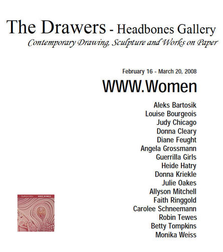 WWW.Women / Headbones Gallery, 2008