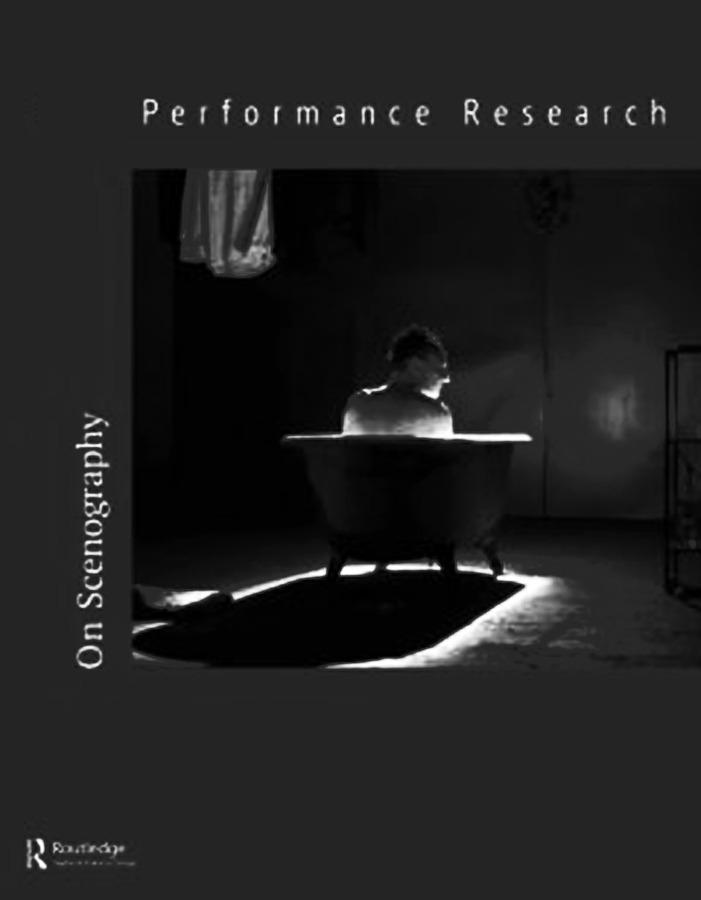 PUBLICATION: Audible Scenography by Johannes Birringer in Performance Research. Routledge, 2013