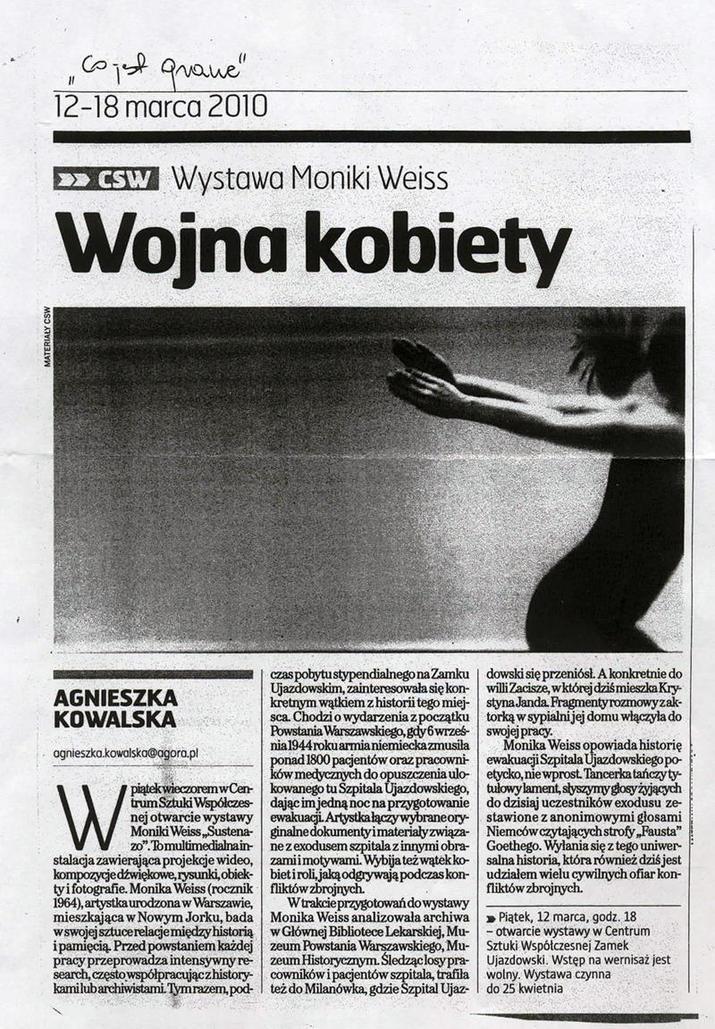 Gazeta Wyborcza / Wojna Kobiety / by Agnieszka Kowalska