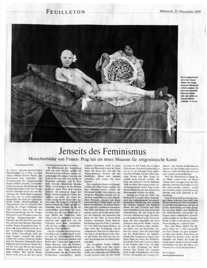 Feuilleton / Jenseits des Feminismus / by Juergen Serke