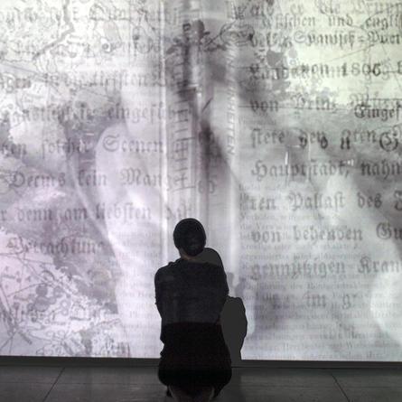 Monika Weiss: Sustenazo (Lament II) at Goethe-Institut / Max Mueller Bhavan, 2015