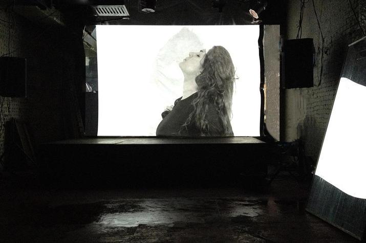 "HYPHEN HUB PRESENTS: Monika Weiss ""Wrath"", The Red Door, New York, 2015"
