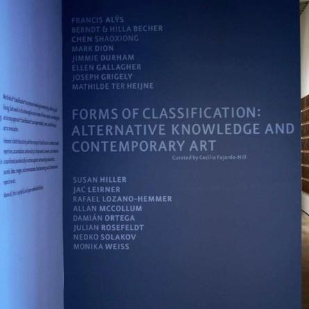 Forms of Classification: Alternative Knowledge and Contemporary Art, CIFO, Miami, 2006-2007