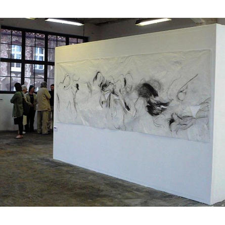 Drawing with Body, Drawing with Sound, 2002